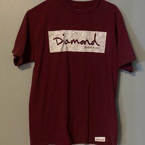 Diamond 100% cotton t-shirt , worn multiple times